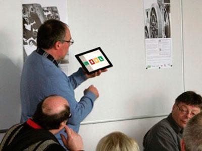 Hr. Thomas Hagenhofer präsentiert neues SAL-Modul