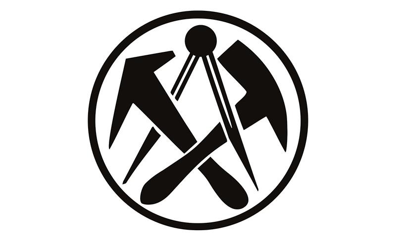 Dachdecker symbol  Dachdeckerin / Dachdecker – Arnold-Bode-Schule Kassel