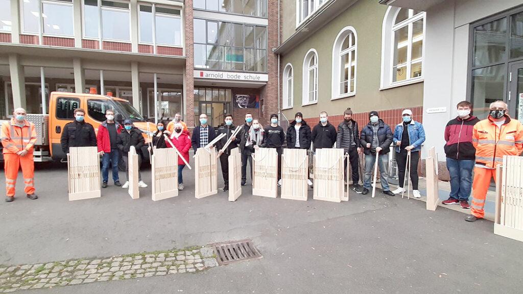 Müllzangen für die Stadtreiniger
